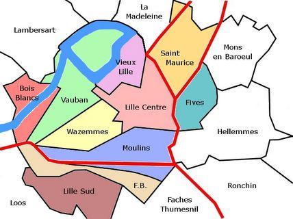 quartiers lille