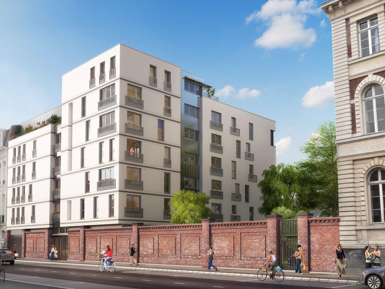 Loi DUFLOT – Loi PINEL sur un emplacement exceptionnel : Le Carré Rameau à Lille