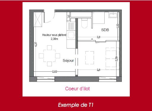 defiscalisation pinel villeneuve d'ascq ex T1