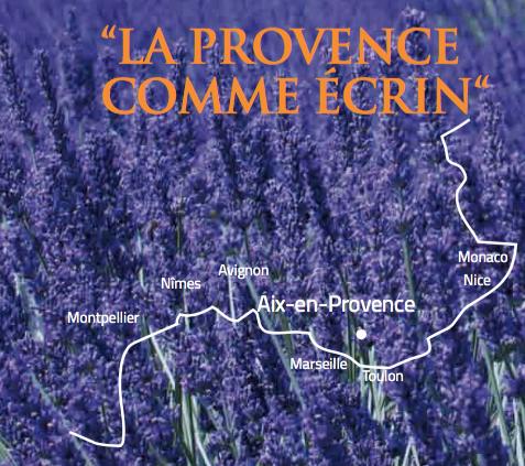 localisation aix en provence