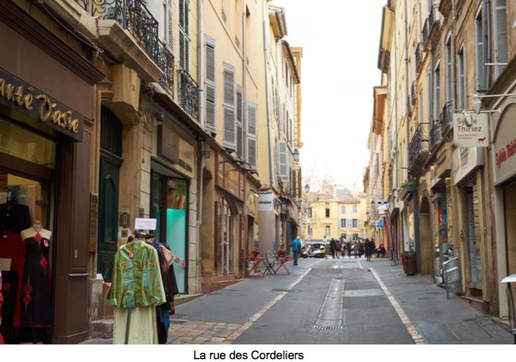 rue des cordeliers malraux aix en provence