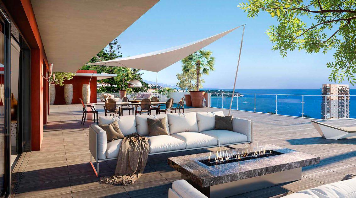 Investissez dans une vue exceptionnelle sur la baie de Monaco !