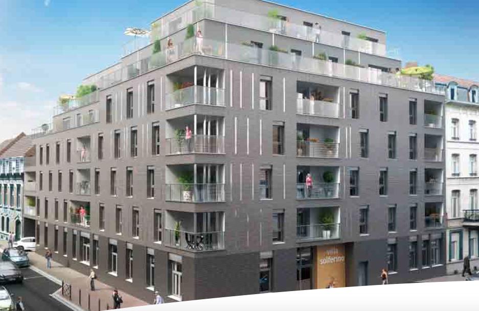 Superbe Immeuble en loi Pinel au coeur de Lille