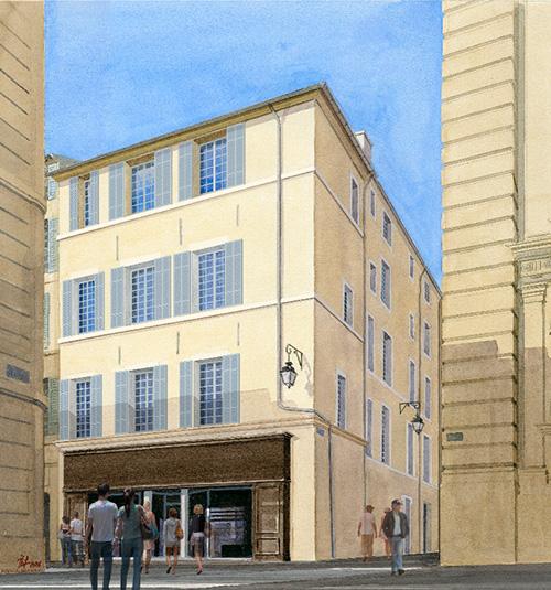 Loi Malraux au coeur d'Aix en Provence : Une opportunité rare !