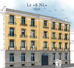 Lille hyper-centre, 13 logements en déficit foncier